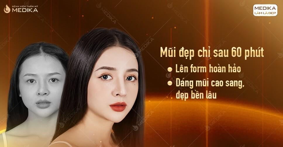 Cần lưu ý gì để tránh biến chứng sau nâng mũi ở MEDIKA.vn?
