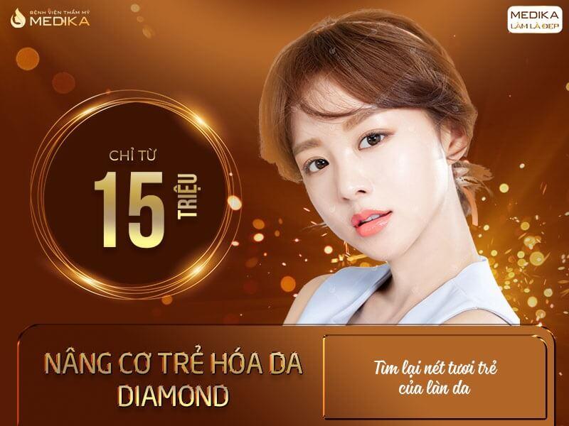 Nâng cơ trẻ hóa da Diamond - Tìm lại nét tuổi trẻ cho làn da - MEDIKA.vn